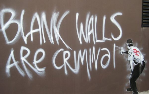 Blank Walls are Criminal…