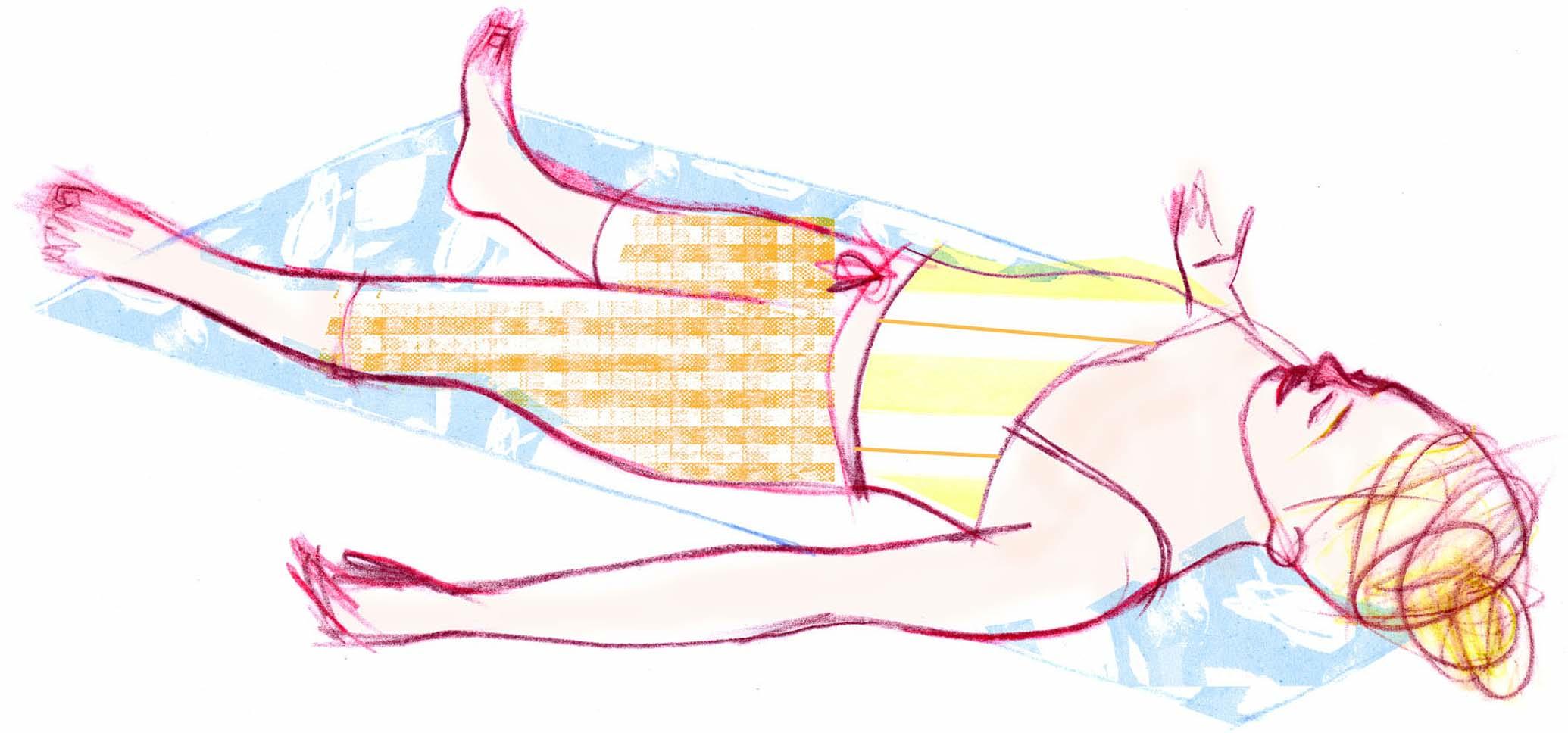 Perché il petto e un dorso fanno male