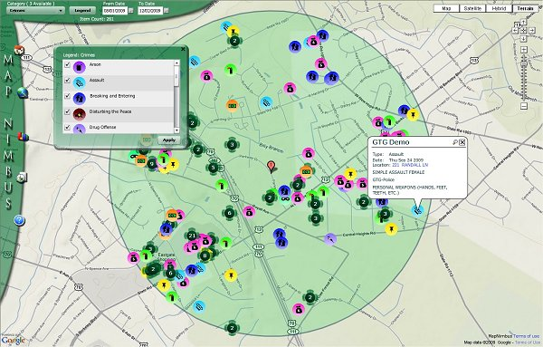 Is the use of Geographic Information Systems (GIS) for policing effective?