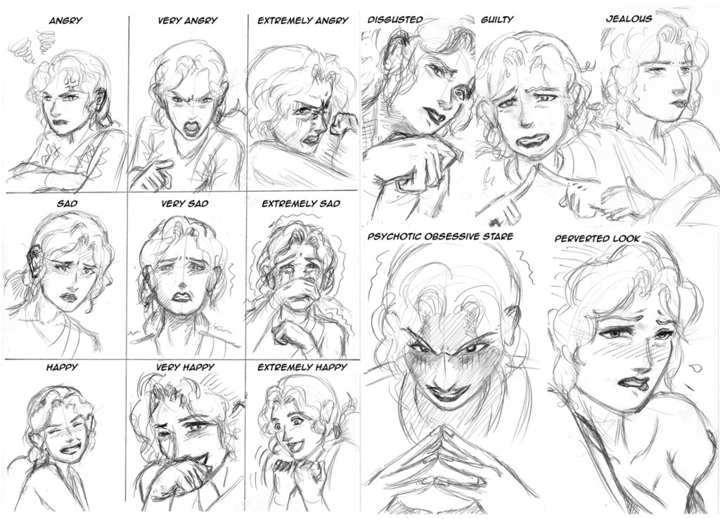 Apologise, but, gender difference in facial expressions