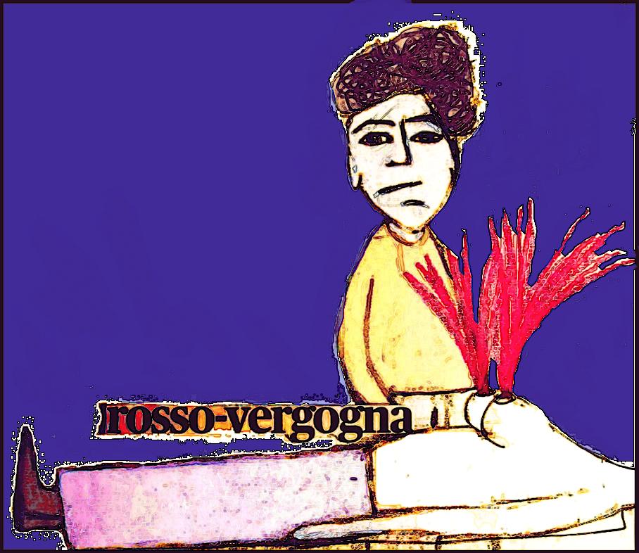 """Rosso - Vergogna"" di Andrea Colosimo"