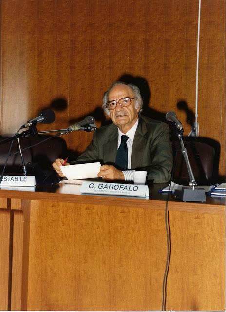 L'avvocato Giuseppe Garofalo